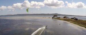 Sardinia Kitesurfing Flat Water Kitesurf Beach of Punta Trettu